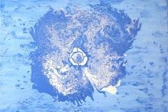 Blue Orgasim - 100 x 80cm $2000.00