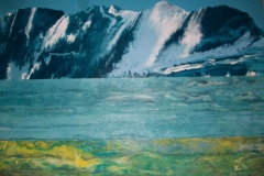Norwegian Coast 146 x 114cm $900