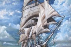 The Joseph Conrad - Oil on Canvas NFS