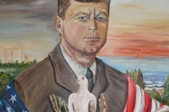 In Memorium - Oil on Canvas NFS